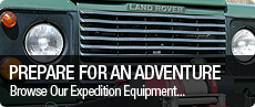 Land Rover Expedition Equipment