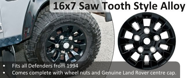 Saw Tooth Style Alloys