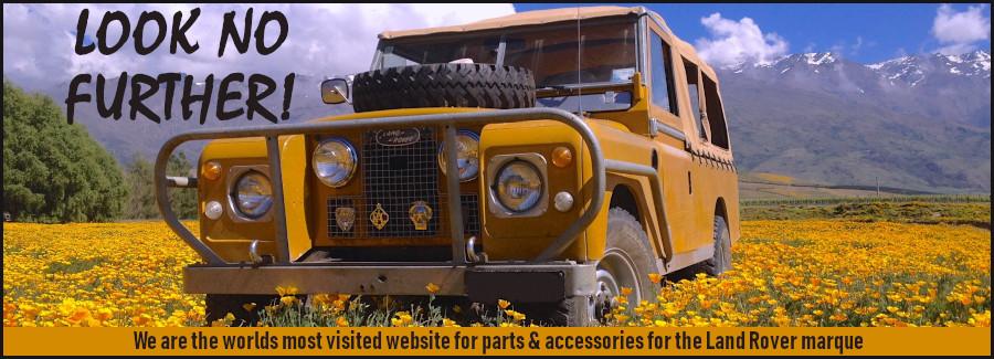 Land Rover & Range Rover Spares - Paddock Motors - Paddock