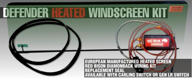 Heated Windscreen Kit
