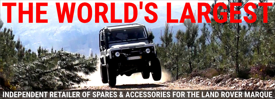 Worlds Largest Landrover Parts Inventory
